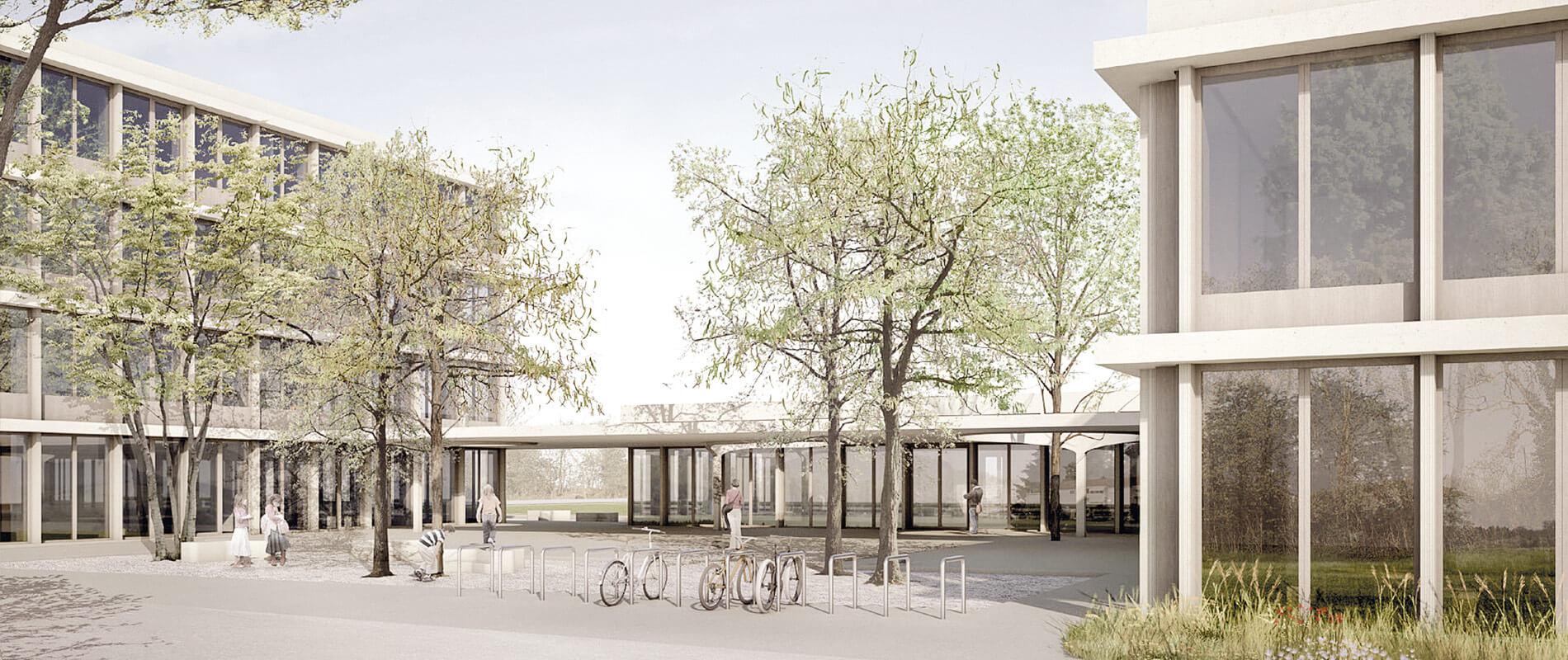 Schulhaus Dietlimoos |Adliswil | Referenz | Ettinger Partner
