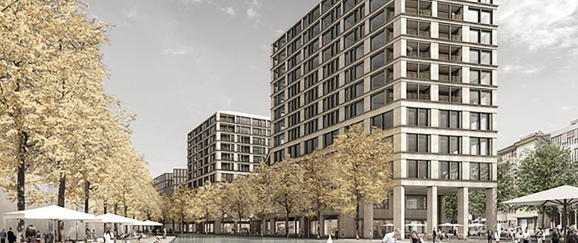 Europaallee Baufeld E |Stadtwohnungen und Geschäftsfläche |Referenz |Ettinger Partner
