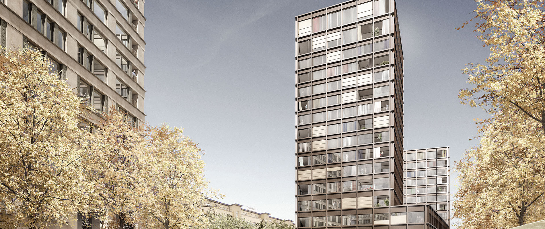 Gebäude Europaallee, Baufeld G |Referenz |Ettinger Partner