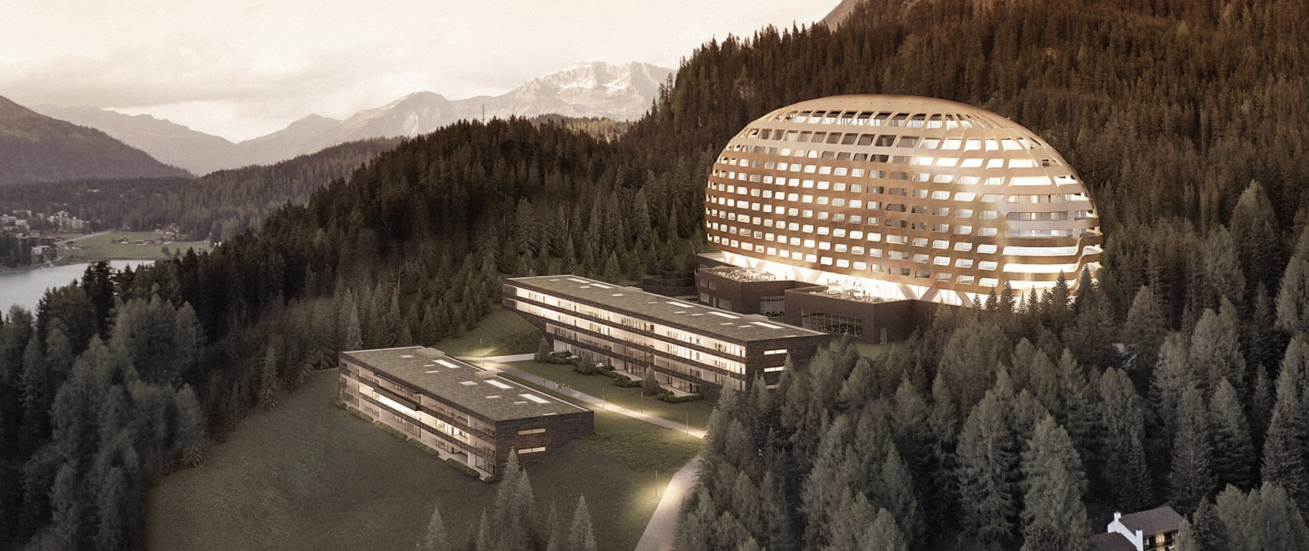 Projektentwicklung InterContinental Davos Resort & Spa | Referenz | Ettinger Partner