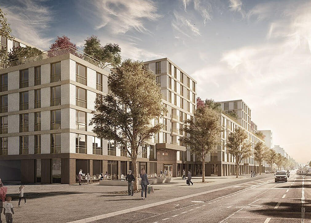 UTO Real Estate Management AG Architektur Projekt Grundriss