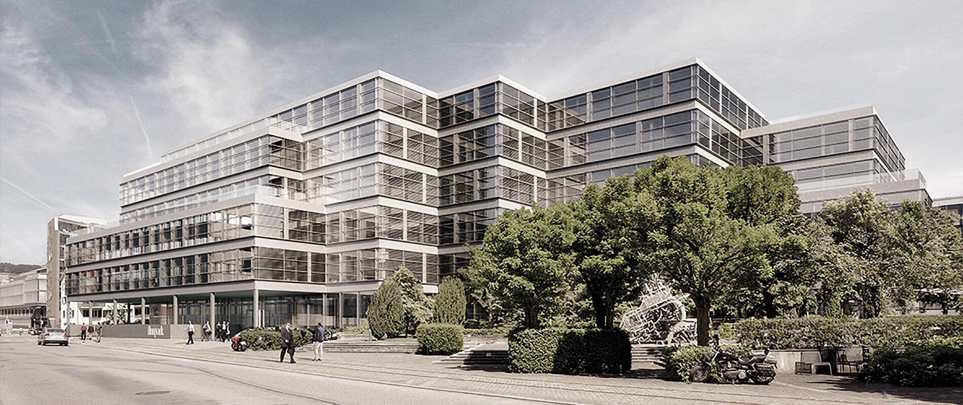 Medienpark Zürich: 20'000 Quadratmeter erneuert mit Minergie®-Standard |Referenz |Ettinger Partner