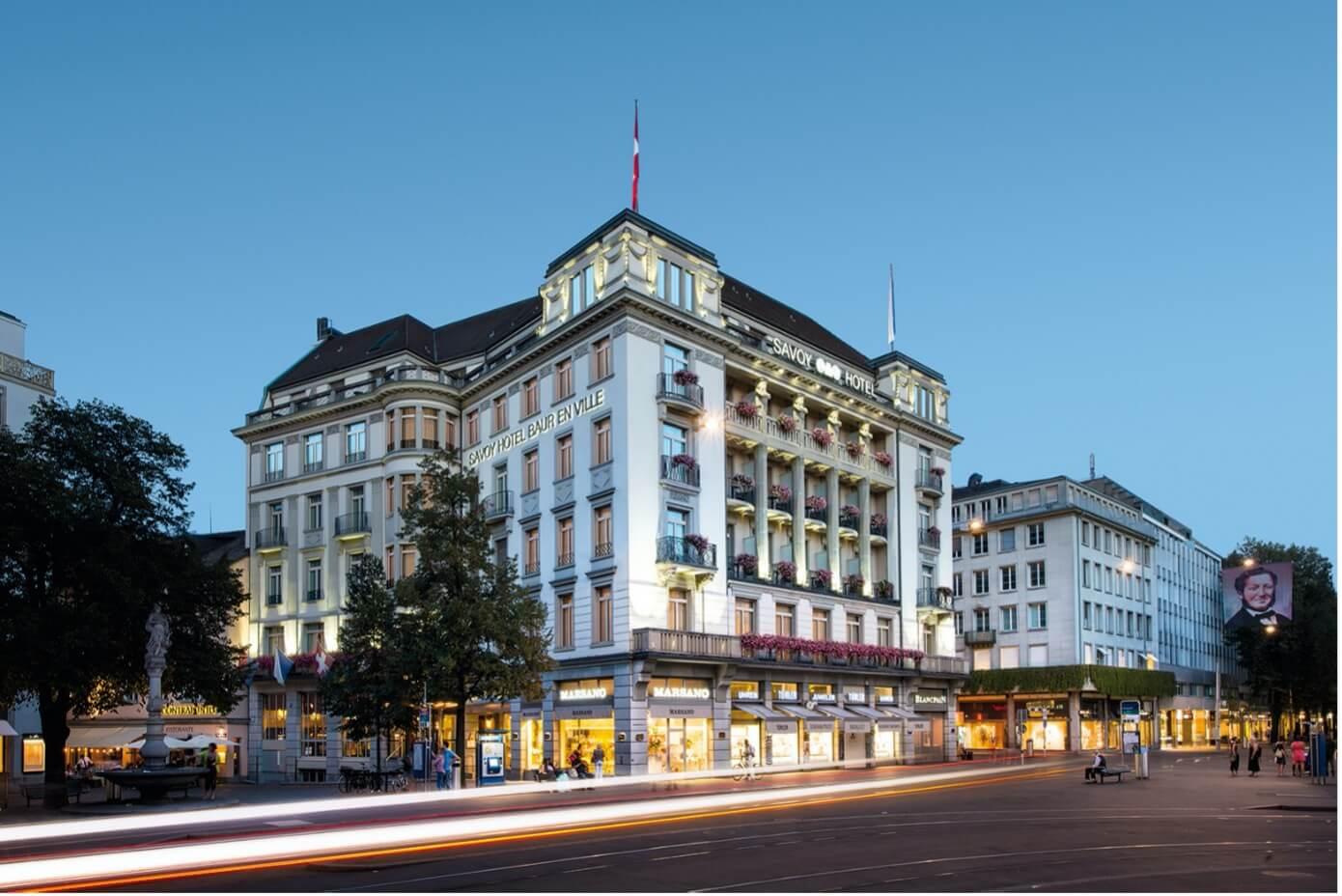 Bild von Savoy Hotel Baur en Ville